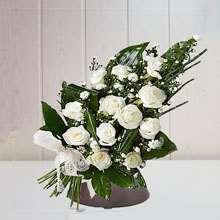 Ramo de flores para tanatorios de Jaen